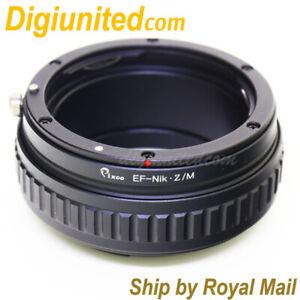 Canon-EOS-EF-lens-to-Nikon-Z-mount-Mirrorless-camera-adapter-macro-helicoid-Z6