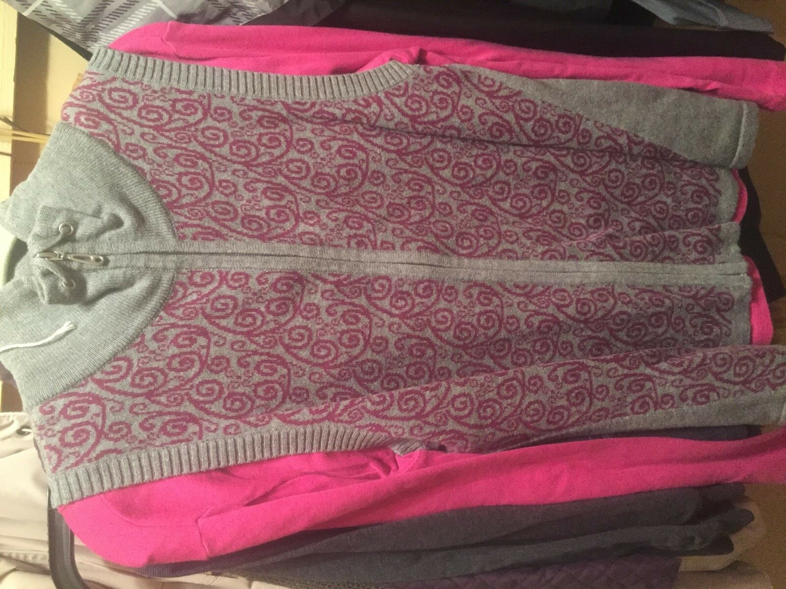 Christopher & Banks vest m and st johns top large… - image 4