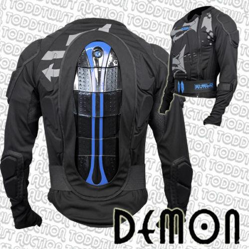 Demon Shield Oberteil Snowboard Schutz für Oberkörper, Rücken, Ellenbogen XXL