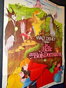Walt Disney La Belle Au Bois Dormant Affiche Dessin Anime Animation Ebay