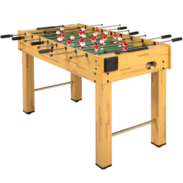 BCP 48in Foosball Soccer Arcade Game Table w/ Built-In Cup Holders, 2 Balls