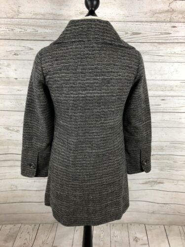Coat Condition Stuff Uk10 Women's Great White Wool Grey 4YpwEwBq