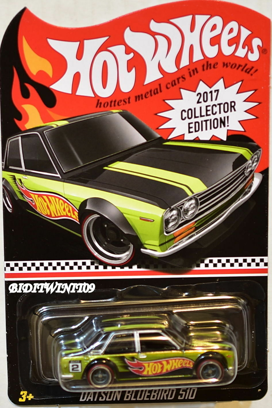 1 64 Hot Wheels Kmart Mail In Kdays Collector Edition Datsun blue