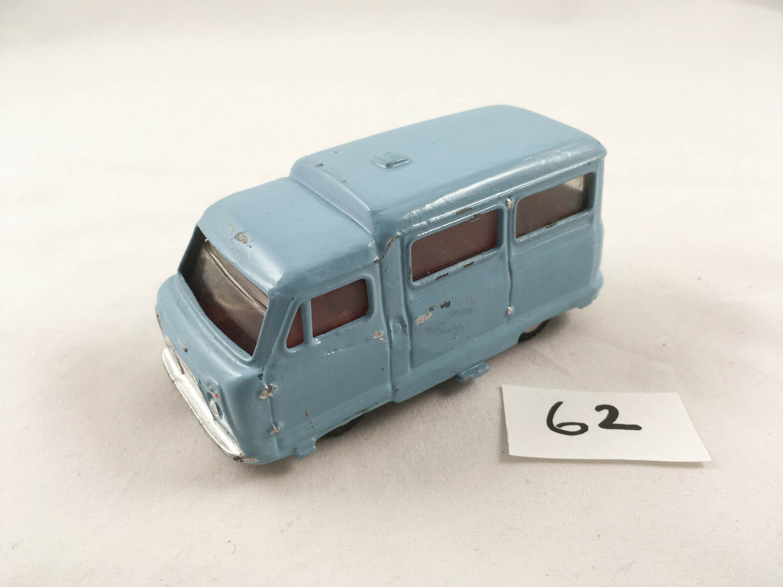 DINKY TOYS   295 standard ATLAS kenebrake Bus Minibus ORIGINALE Diecast riverniciata