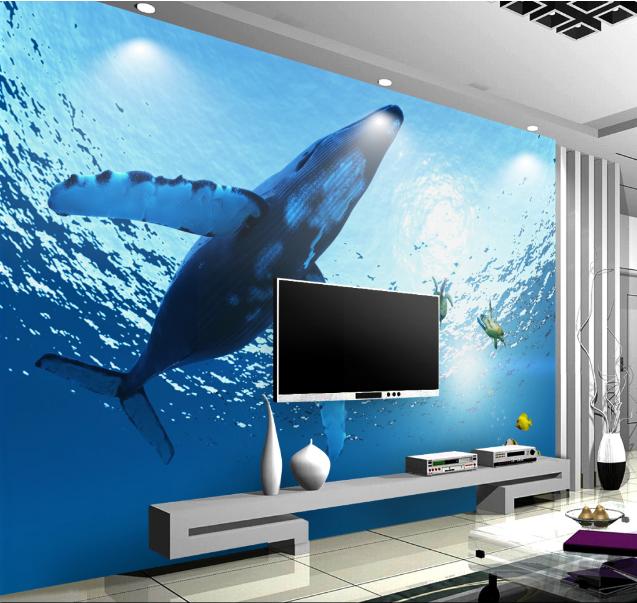 3D Tiger Shark Beast Animal 685 Wall Paper Wall Print Decal Wall AJ WALLPAPER CA
