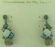 Sorrelli Aegean Sea Earrings ECF6ASAES antique silver tone