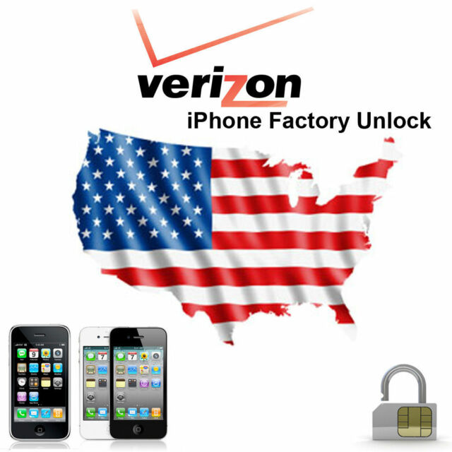 FACTORY UNLOCK Service VERIZON iPhone 5s,6,6s,7,8,X,XS,XR,11Fast 5min-12hours