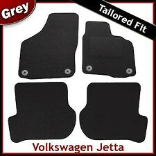 Volkswagen VW Jetta Tailored Fitted Carpet Car Mats GREY (2006..2009 2010) Round