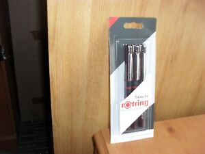 Rotring 1904780 Tikky Graphic Fineliner Pen Set Set of 3