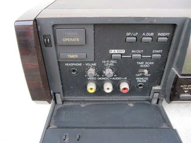 VHS videomaskine, JVC, HR-E939