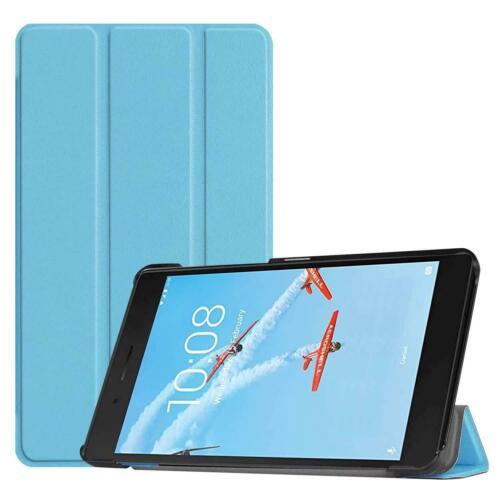 """ULTRA Sottile Smart Custodia In Pelle Coperchio Supporto Per Lenovo Tab E7 7/"""" TB-7104 Tablet UK"""