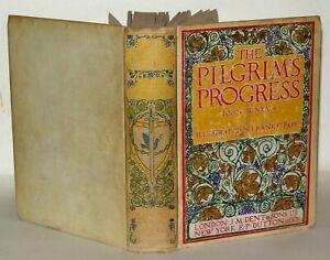 The-Pilgrim-039-s-Progress-John-Bunyan-Illustrated-1930-Hardback-Book