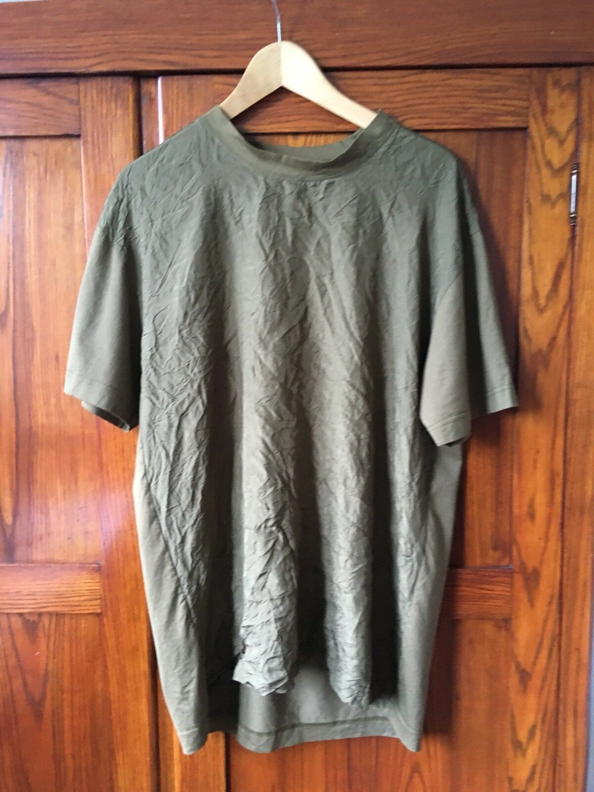 McQ Alexander McQueen Wrinkled Boxy T-shirt