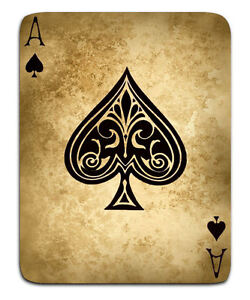 A3 Poster Vintage Playing Card Ace Of Spades Gothic Style Picture