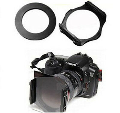 77mm ring Adapter +77mm Colour square Filter Holder for Cokin P series