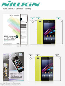 For-Sony-Xperia-Z1-Compact-Nillkin-Front-amp-Back-Screen-Protector-LCD-Film-D5503