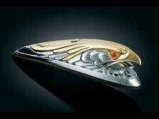DELUXE EAGLE/HAWK/FALCON Chrome Front Fender Mascot /Ornament: Kuryakyn 9026