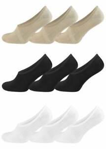 super popular adde5 cf49a Details zu Bambus Füßlinge FOOTIES Ballerina Socken Ballerinas mit  Silikonstreifen 6 Paar