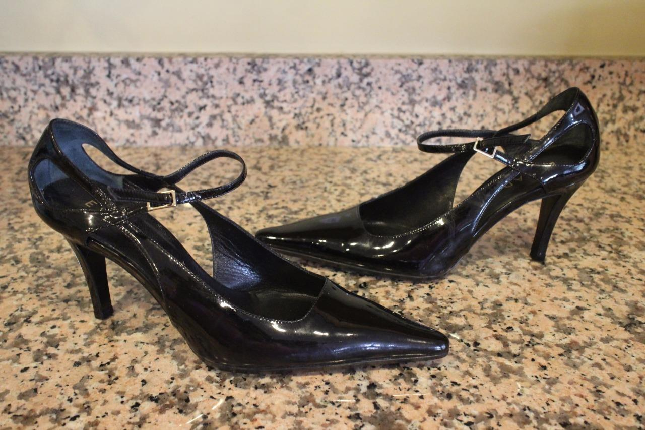 ESCADA Women's Black Patent Patent Patent Leather steel  Heels Size 36 us 6 f4eb34