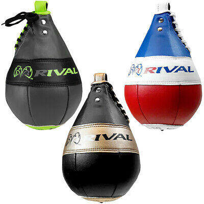 """White Rival Boxing 9/"""" Double End Bag"""