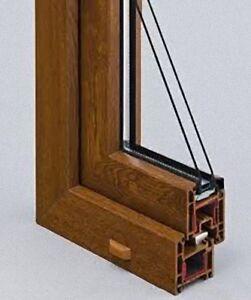 Finestre infissi serramenti in pvc colorato prezzo mq ebay - Prezzo finestre pvc al mq ...