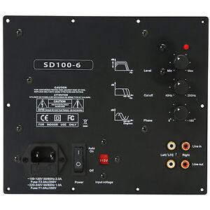 Yung SD100-6 100W Class D Subwoofer Amp Module w/6dB@45Hz