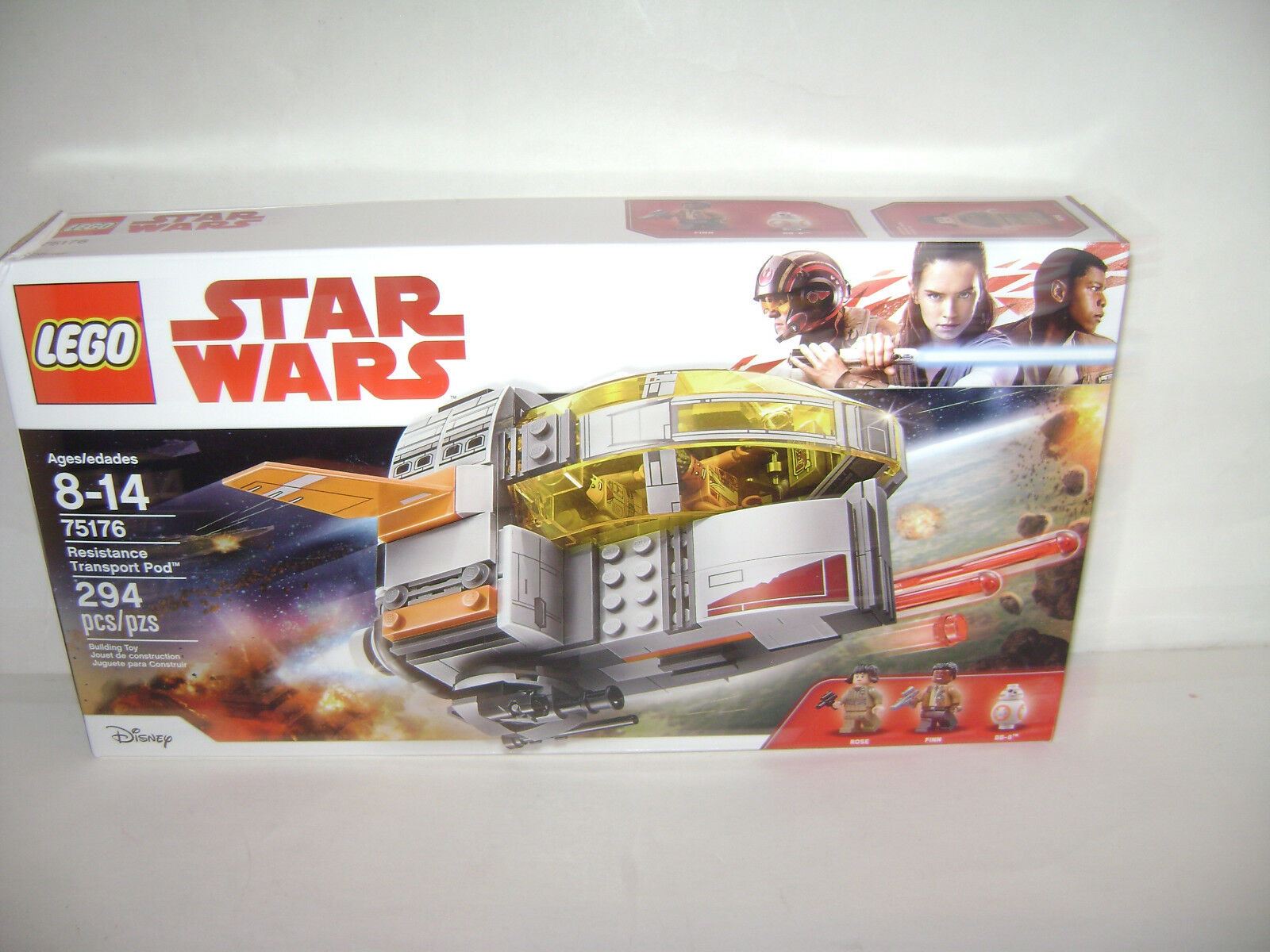 LEGO 75176 STAR WARS Resistance Transport Transport Transport Pod pink Finn BB 8 Toy NEW Sealed A ad74ba