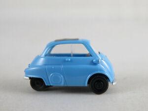 Wiking-80801-BMW-Isetta-1955-1962-en-azul-claro-1-87-h0-buen-estado