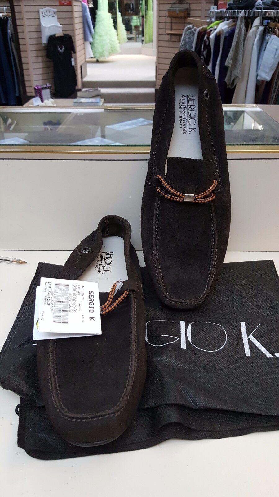 New Uomo Sergio K Loafers size 7