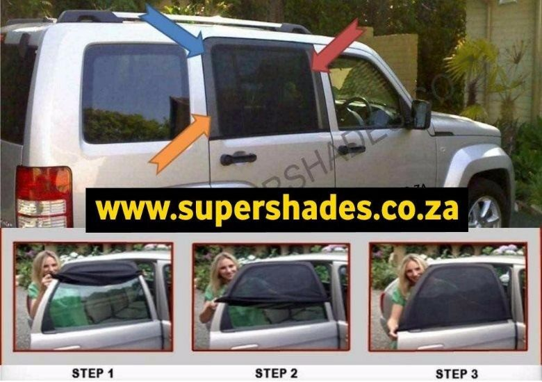 Car Window Shades for Baby. Keeping the sunlight out of kids eyes. Cape Town