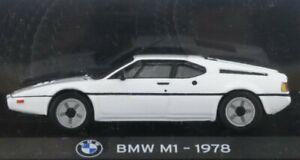 BMW M1 - 1978 - white - Atlas 1:43