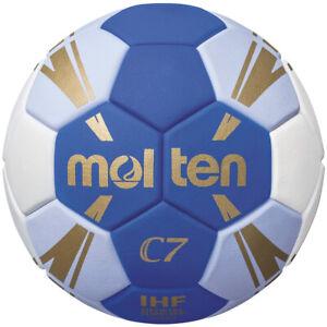 Molten Handball wettspielball trainingsball bleu/blanc/or h2c3500-bw taille 2