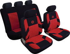 HYUNDAI i10 i20 i30 i40 Universal Precision Sports Style Car Seat Covers RED