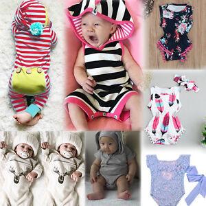 kleinkinder baby kinder m dchen junge strampler overall outfits kleidung menge ebay. Black Bedroom Furniture Sets. Home Design Ideas