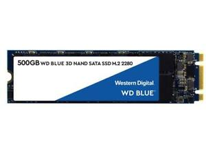 WD Blue 3D NAND 500GB Internal SSD - SATA III 6Gb/s M.2 2280 Solid State Drive -