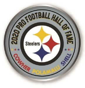 Football Troy Polamalu 2020 PRO Hall of Fame Patch Centennial Patch Steelers