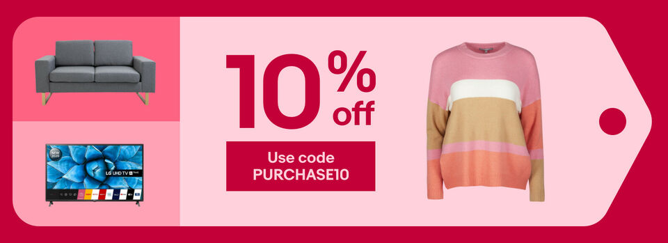 Use code PURCHASE10 - Love extra value at 10% off