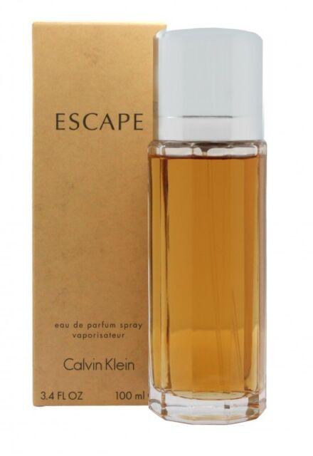 CALVIN KLEIN ESCAPE EAU DE PARFUM EDP 100ML SPRAY - WOMEN'S FOR HER. NEW