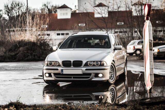 Sport Reins Calandre Noir Brillant Pour BMW 5er e39 Berline Touring