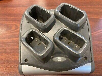 MC9190 Battery Charger 4 Slot SAC9000-4000R Symbol Motorola Charges 4 Batteries
