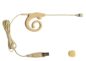 Pro-Cardioid-ear-Hook-Hang-Headset-Microphone-for-Shure-Wireless-Mic-New-Type