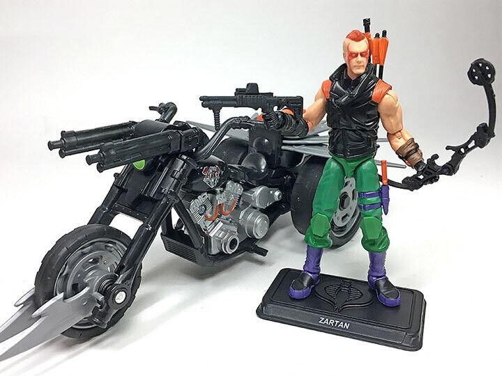 GI Joe Club FSS Ninja Force Zartan & Doom Cycle Final 12 New in sealed bag