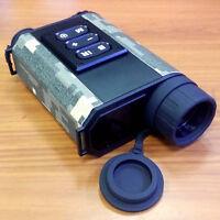 6x32 Night Vision Ir Monocular Laser Range Finder 500m 4xzoom Scope Retail Boxed