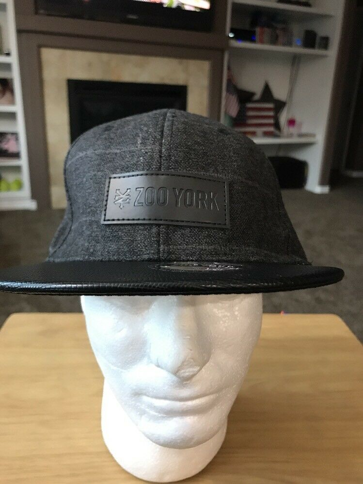 6e021447534 ... new zealand zoo york snapback hat black and grey snapback york trucker hat  baseball cap 0e826d