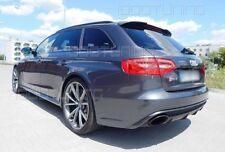 Audi A4 RS4 Look für B8 8K Dachkantenspoiler Dachspoiler Neu Spoiler Heckspoiler