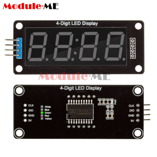 "0.56/"" inch Green TM1637 4-Bits Digital LED Display Clock Tube 5V for Arduino"