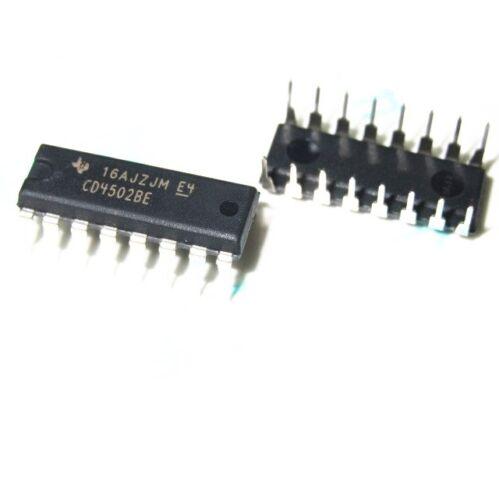 10 PCS NEW  CD4502BE CD4502  DIP-16 IC original TI NEW