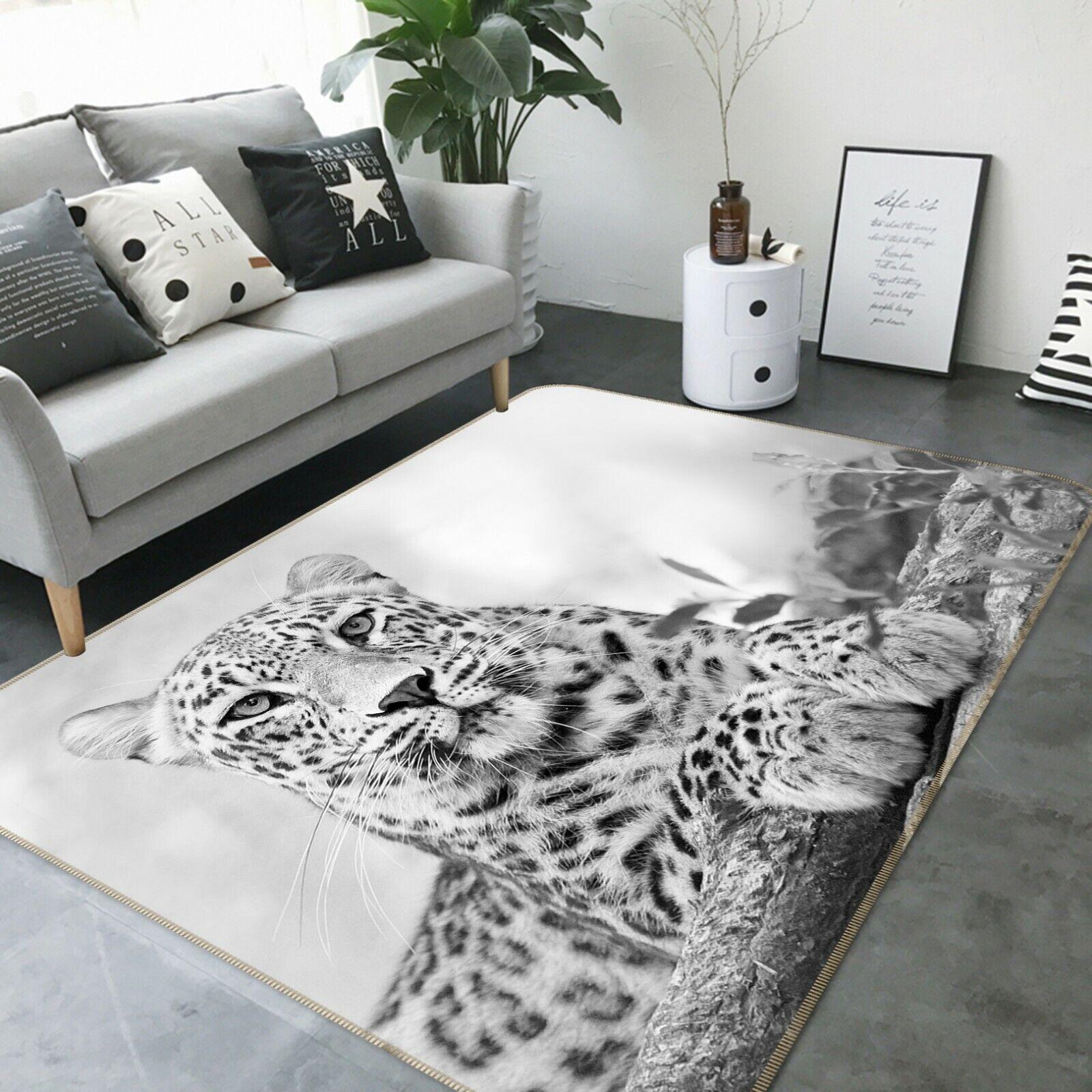 3d a102 leopard animale gioco antiscivolo tappeto elegante foto TAPPETO Wendy