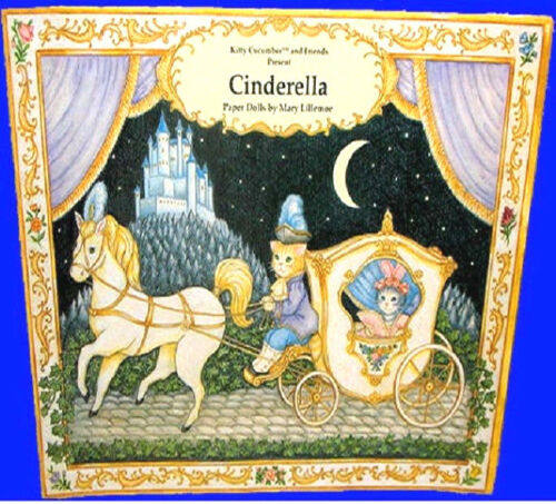 Kitty Cucumber CINDERELLA PAPER DOLL BOOK MINT NEW UNCUT  BEST PRICE/QUALITY