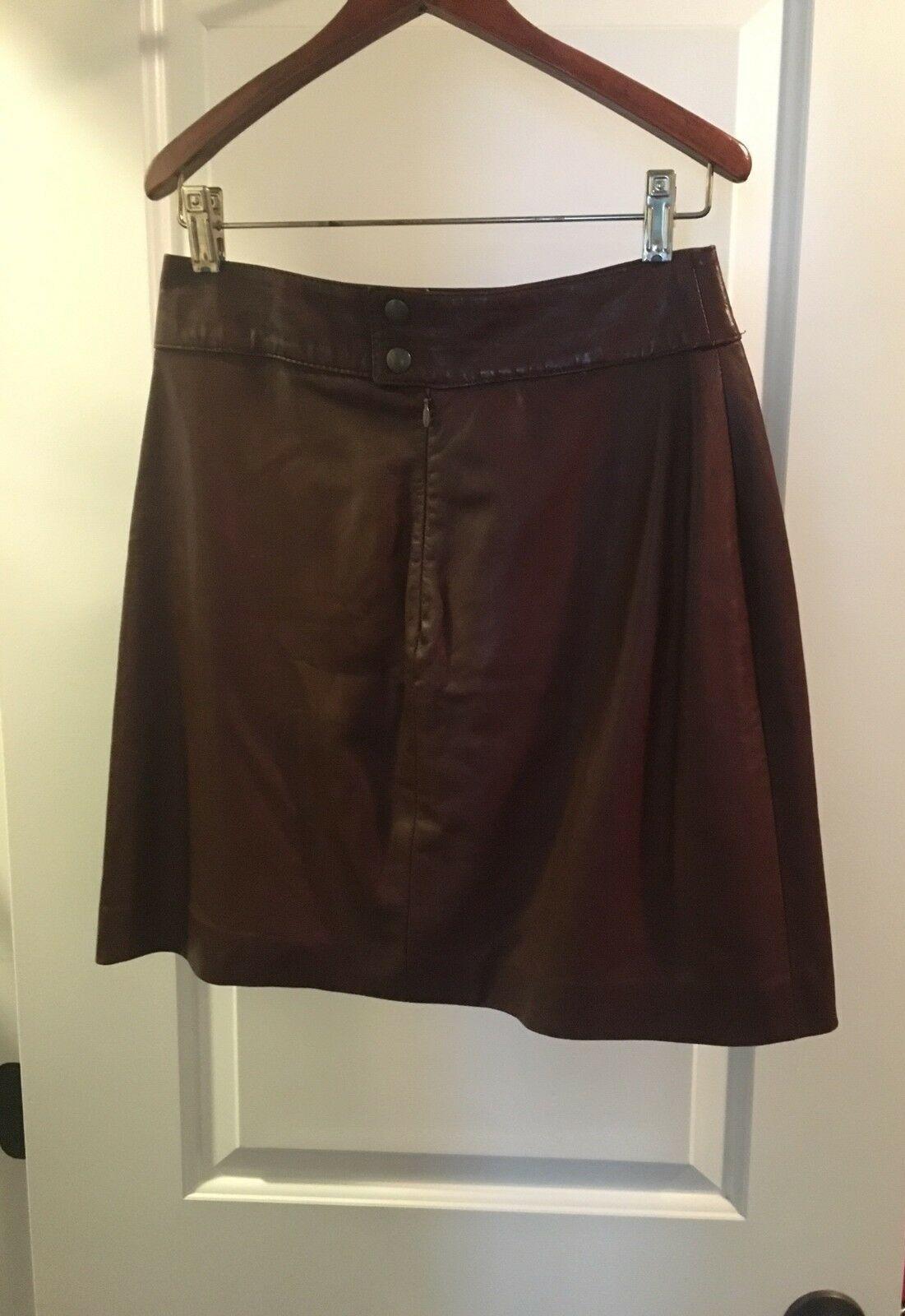 Bottega veneta leather skirt. 100% real italian Bottega mini skirt